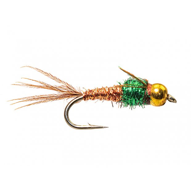 Kyles BH Angel Hair Pheasant Tail Flash