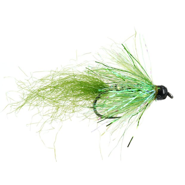 TG Green Trout Streamer BL